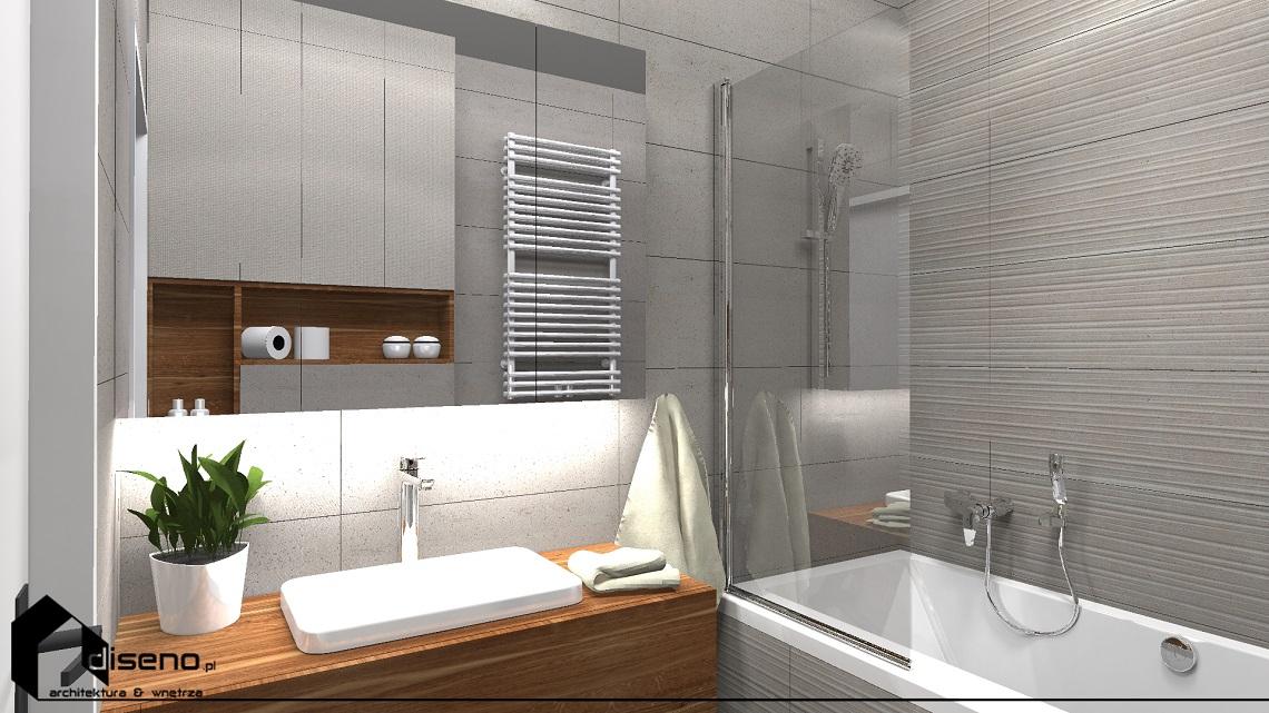 Aranżacja mieszkania w Rzeszowie - projektowanie wnętrz diseno
