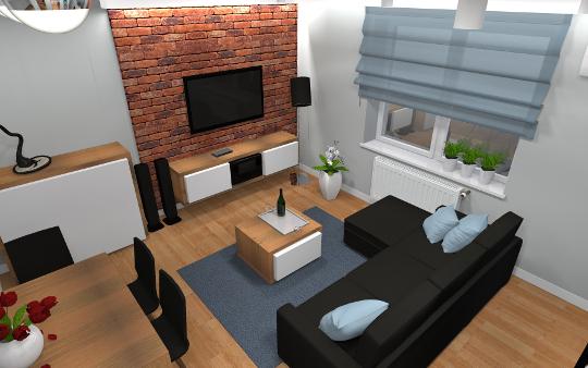 Aranżacja mieszkania - os. Słoneczny Stok, Rzeszów