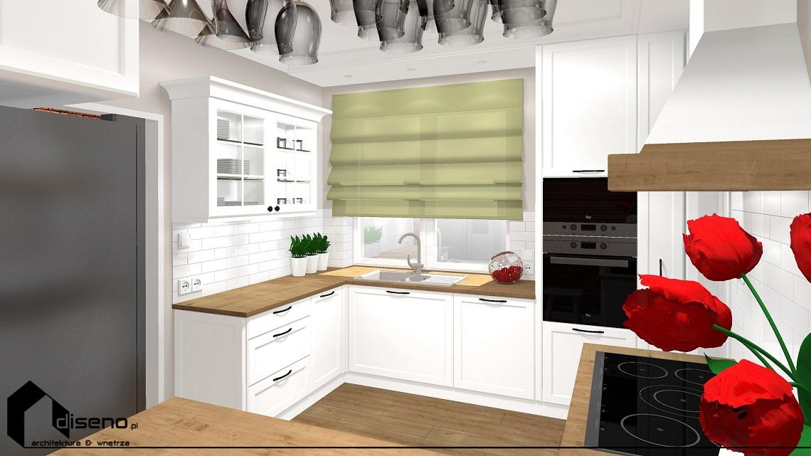 Kuchnia w stylu rustykalnym - k. Przemyśla