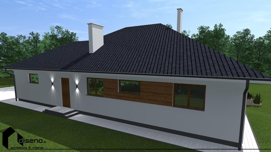 Projekt elewacji w Lubaczowie - studio diseno