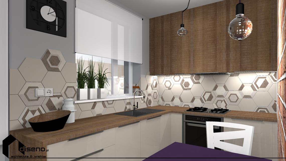 Aranżacja mieszkania w Amsterdamie (Holandia) - projekt wnętrz diseno