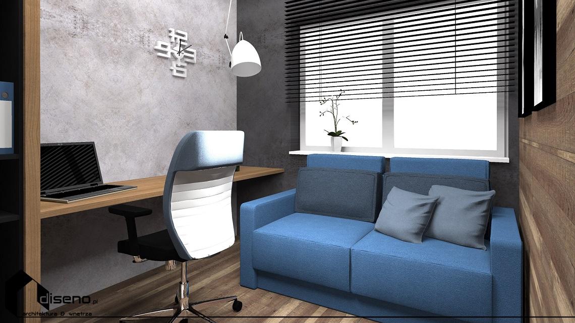 Projekt wnętrz mieszkania - os. Nasz Gaj, Rzeszów