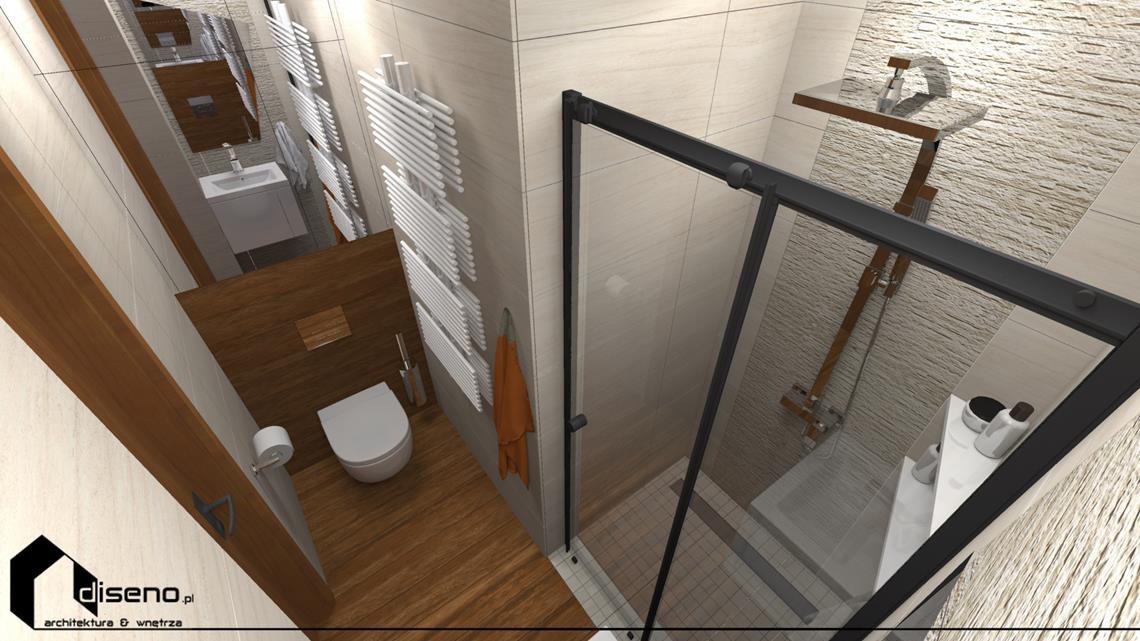 Aranżacja wnętrz domu w Lubaczowie - projekt diseno