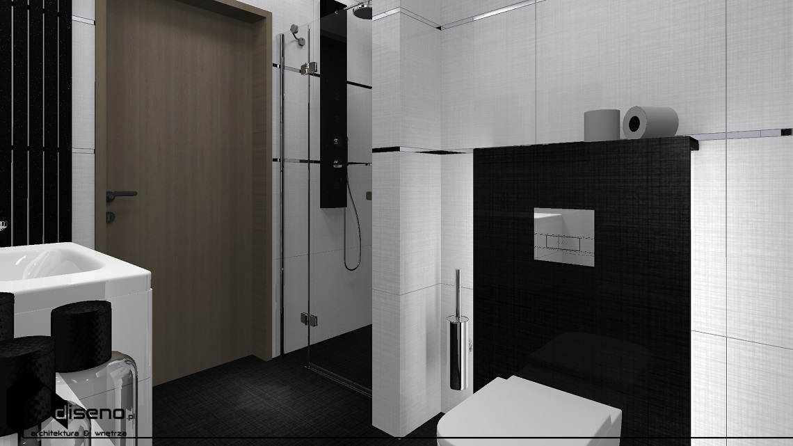 Projekt wnętrz domu jednorodzinnego - aranżacja diseno