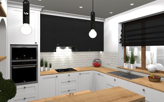 Projekt kuchni - projektowanie wnętrz diseno